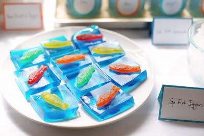 Blue Jello Cake Blue Jello Cups With Orange
