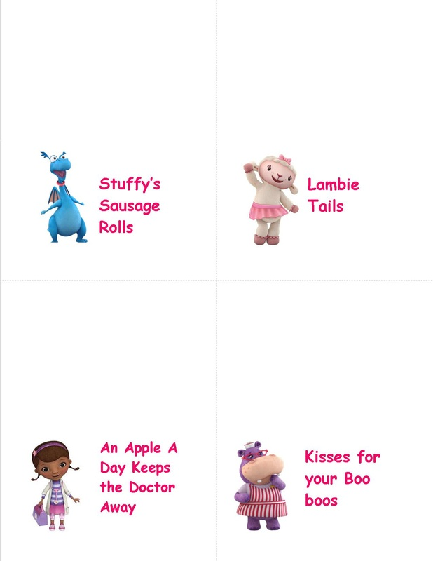 photograph relating to Doc Mcstuffins Printable Labels identified as Classification: Document McStuffins - Piece of Cake Tin Employ the service of Porirua